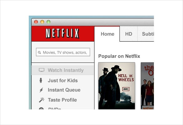 netflix mac app design download