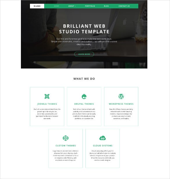 logo wordpress theme
