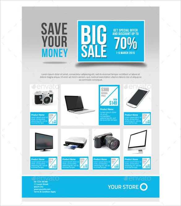 Sales Flyer Template - 61+ Free Psd Format Download | Free