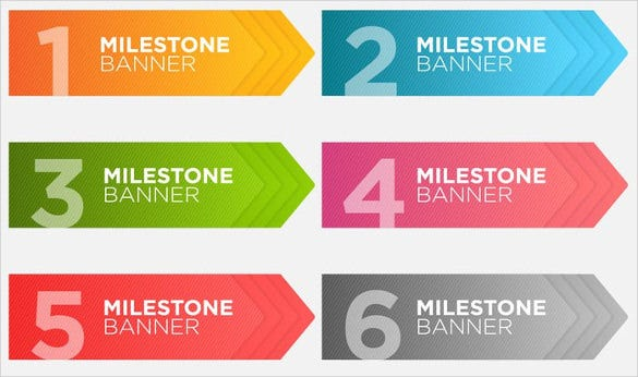 free colorful banner template