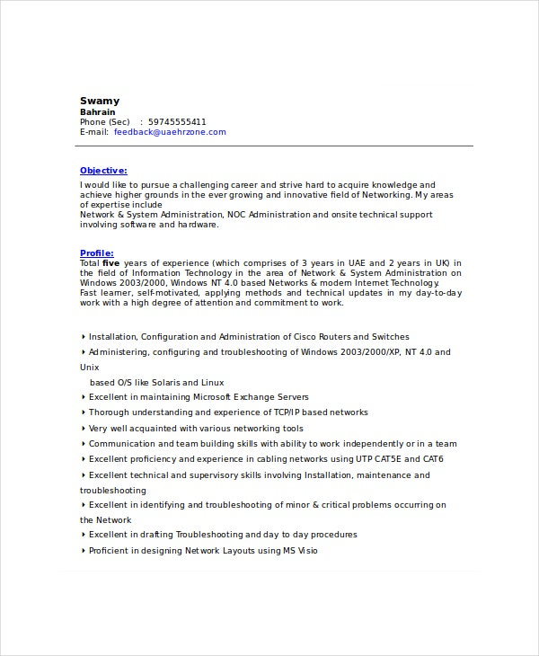 IT-Support-Resume