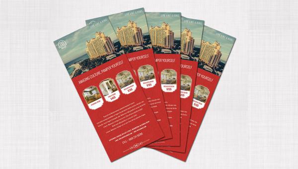 rackcard template