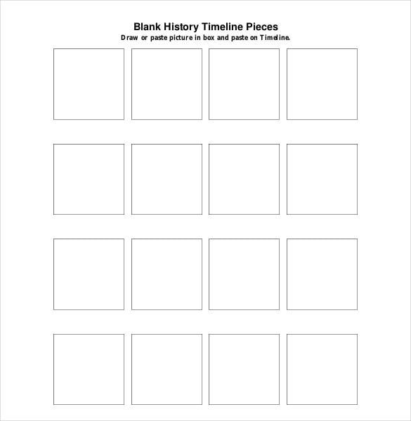 Rbc history timeline templates list