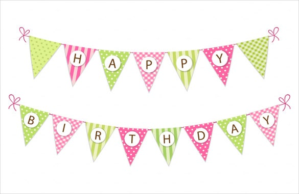 Birthday Banner Template – 22+ Free PSD, AI, Vector EPS ...