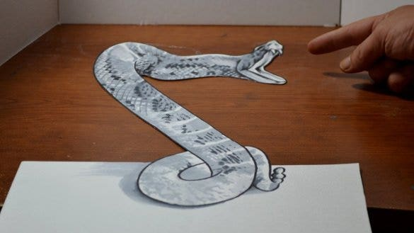 snake drawing template1