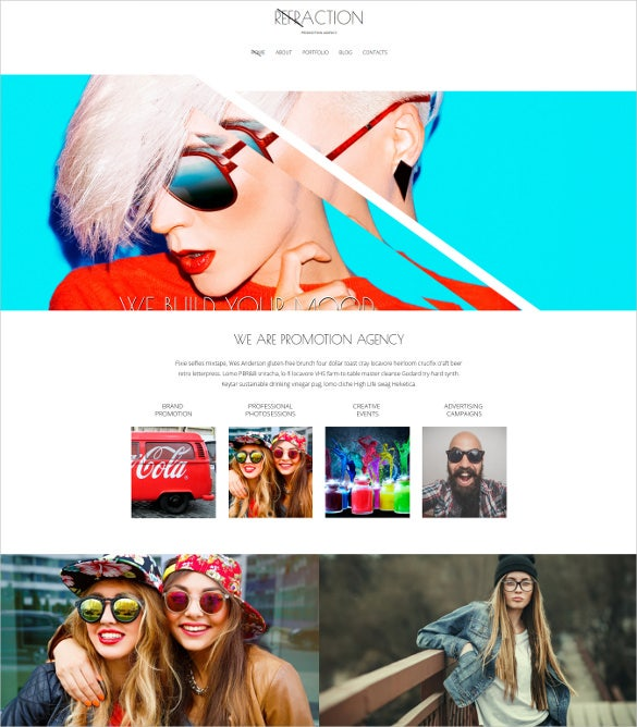 creative agency blog responsive joomla template