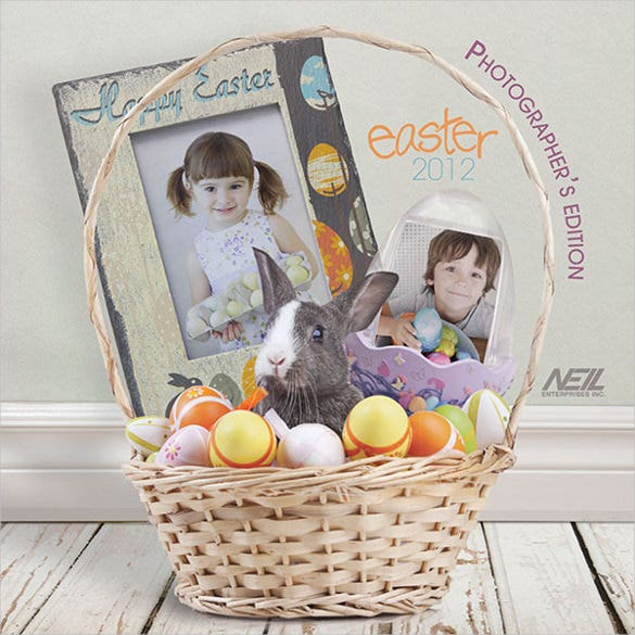 easter brochure template