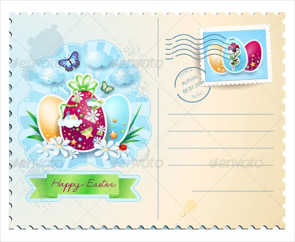 Easter Postcard Template – 16+ Free Psd, Eps, Format Download