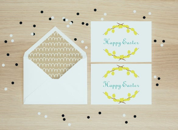 postcard happy easter download
