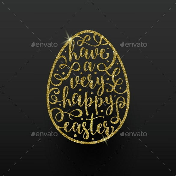 easter greeting card vector eps template download
