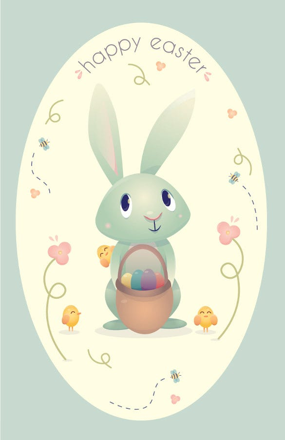 easter greeting cards template  u2013 20  free psd  eps  format