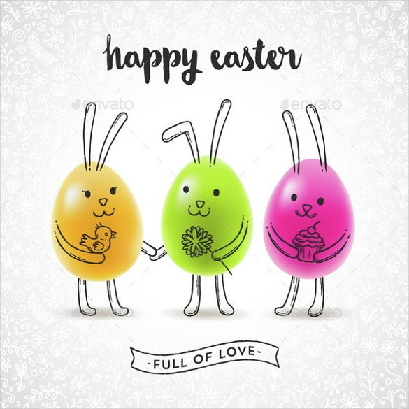 easter greeting card ai illustrator template download0a