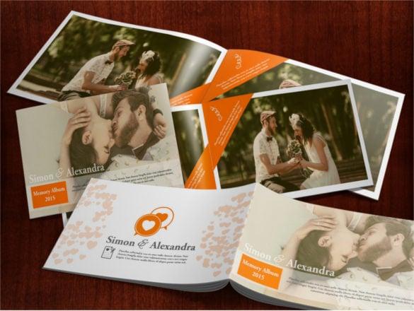 wedding photo album template for photographer download