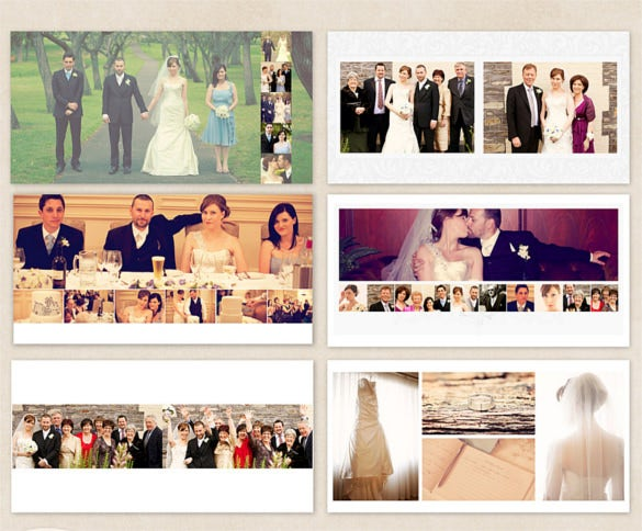 photo album template word