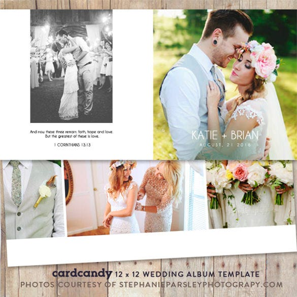 download wedding album photobook template 12x12