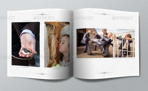 my wedding photo album template photoshop psd