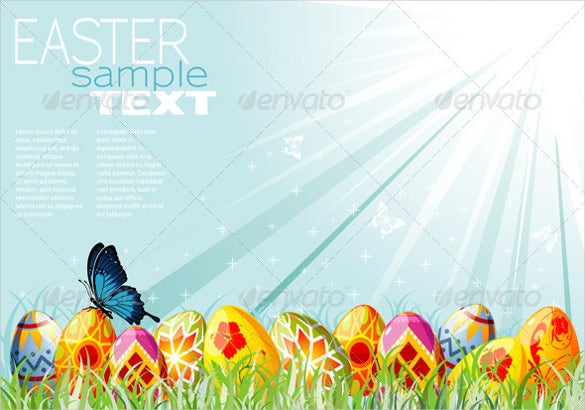 easter background vector eps download