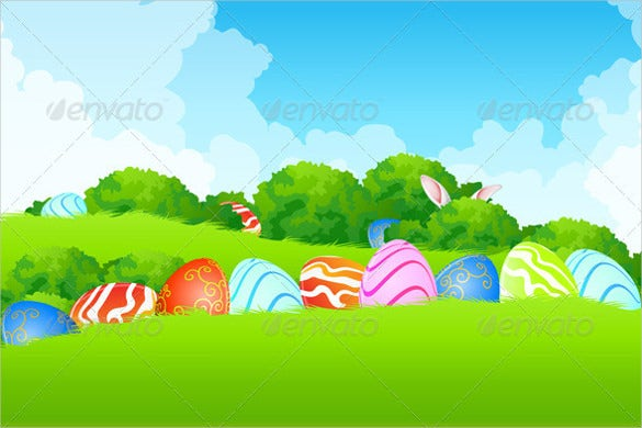 22vector eps easter background download