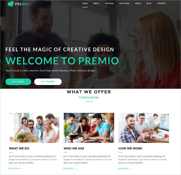 nestle – creative business html5 template