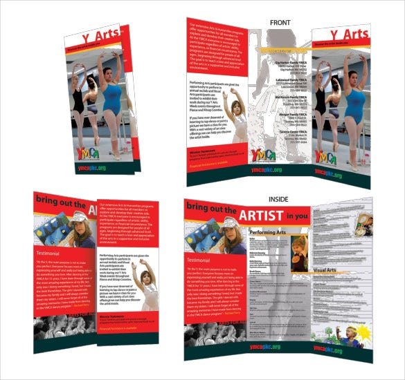 collection of microsoft publisher tri fold brochure templates 15