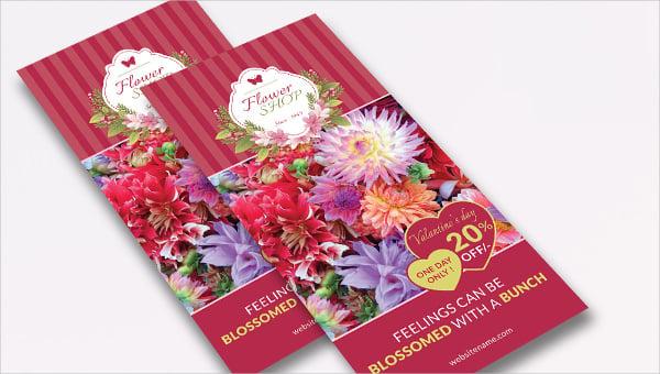 flowershop_a3tri_fold template