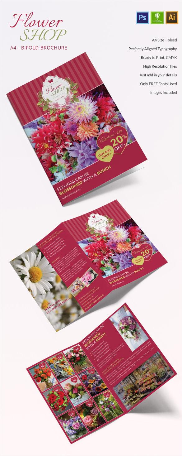 FlowerShop_A4BiFold_brochure