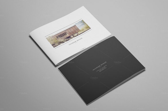 12 pages interior design brochure - Interior Design Pages