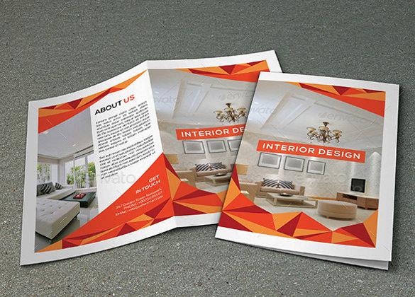 interior design studio brochure