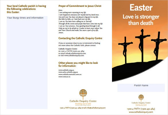 cec easter brochure free download