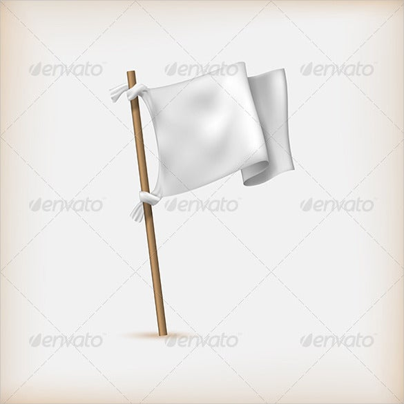 object flag banner template