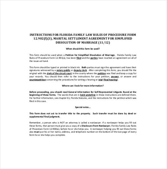 20 Settlement Agreement Templates Word Pdf Pages Free