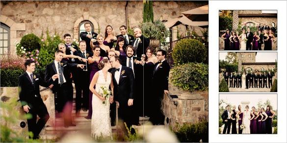 awesome wedding album desing online editable