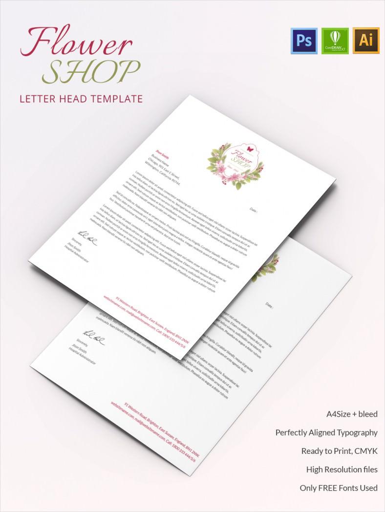FlowerShop_Letterhead