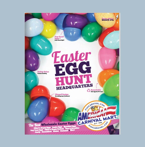 Easter Brochure Template   Free Sample Example Format