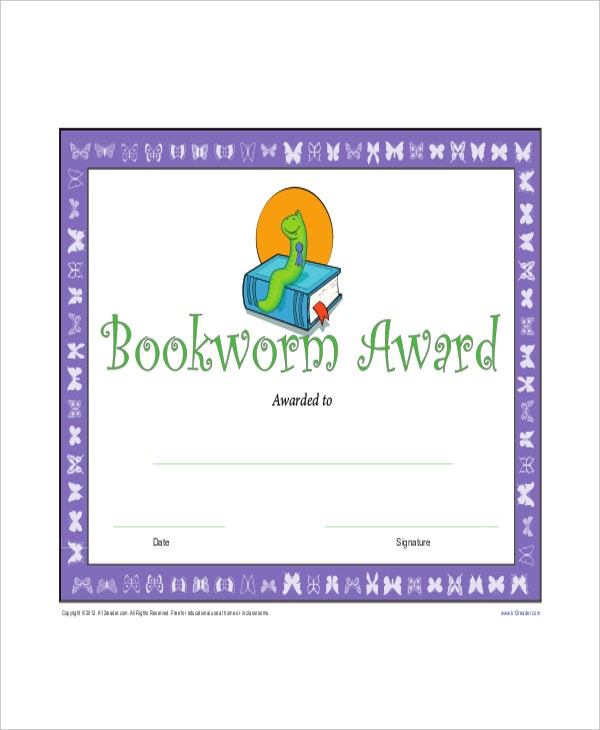 Printable-Reading-Award-Certificate