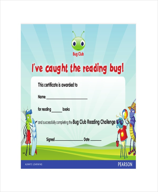 Reading-Challenge-Certificate
