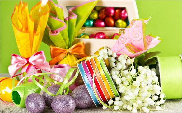 stylish easter background download