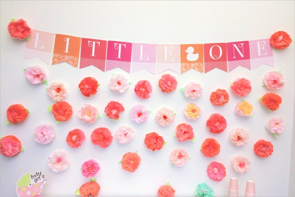 baby shower banner template 21 free psd ai vector eps