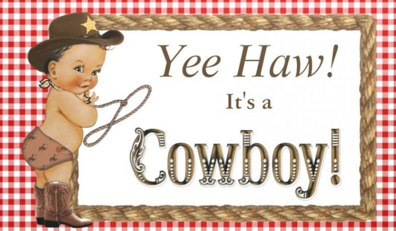 cow baby boy shower banner template 788x461