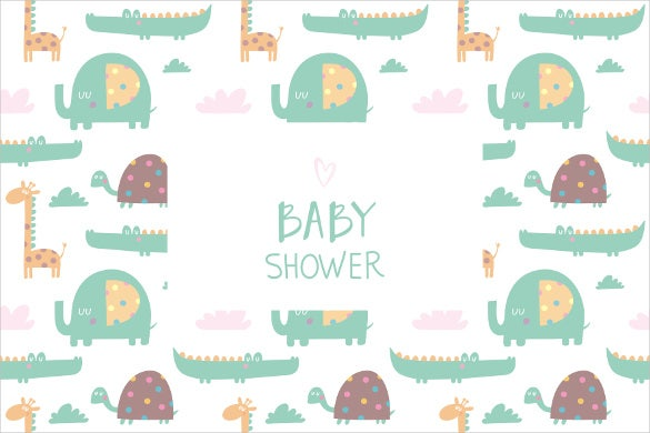 Baby Shower Banner Template