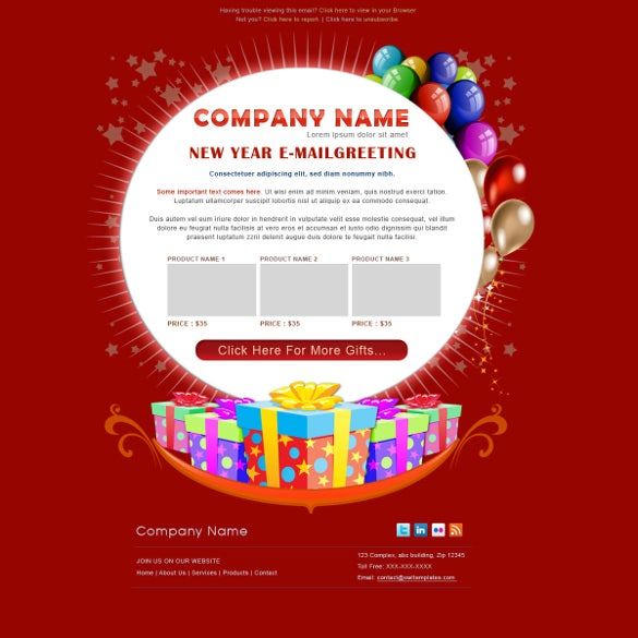 11 birthday email templates free sample example format download