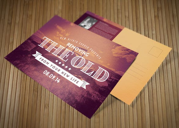 16 Easter Postcard Templates Free Sample Example Format – Sample Easter Postcard Template