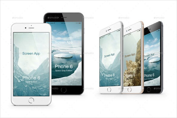 iphone 6s mock ups pack