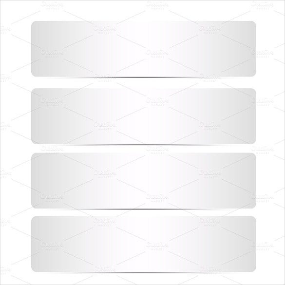 greeting blank banner template