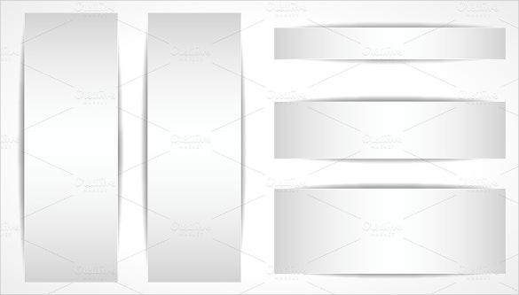 frame blank banner template