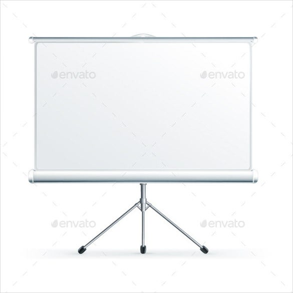 projector blank banner template