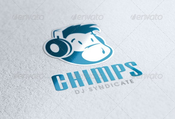 dj logo psd templates melo in tandem co
