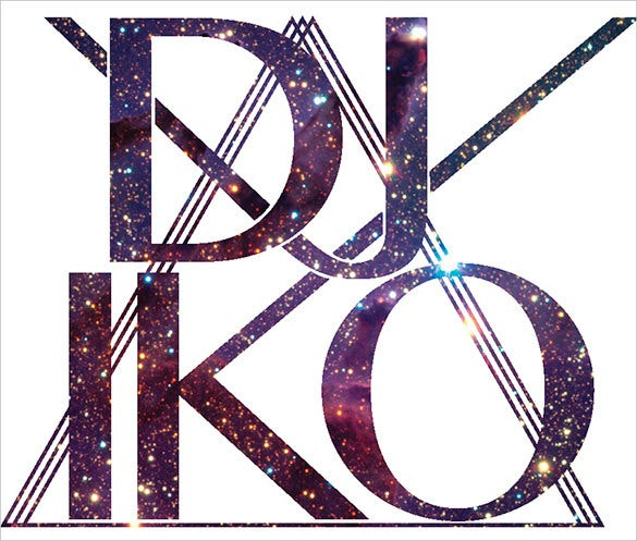 dj iko logo template free download