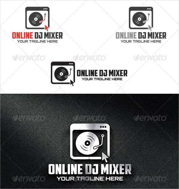 DJ Logo Template – 41+ Free PSD, EPS, Vector, AI, Illustrator Format ...