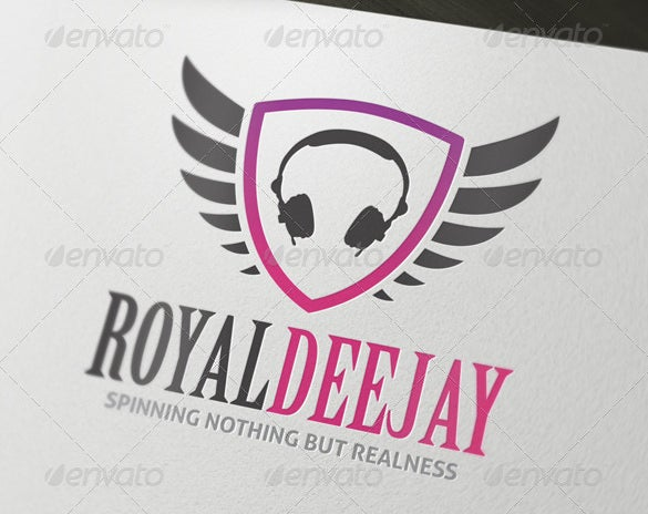 royal dj logo ai format download